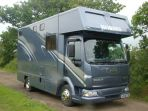 This is a 3 stall Thorpe Eventer was built for a client and became her 3rd Thorpe Horsebox. The client had specific needs in terms of both internal finish as well as overall maneuverability. From this we worked with them to build a layout which worked well and has subsequently proved popular with other clients.