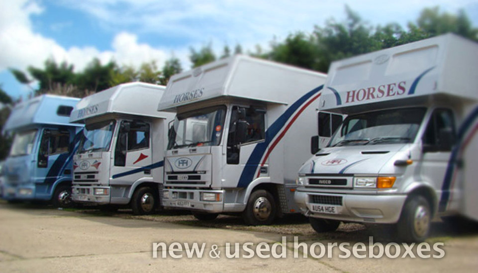 NEW AND USED HORSEBOXES